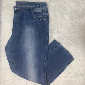 Bongo size 22w slim jeans B04